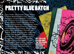 Treptow Ateliers, Aktion Pretty Blue Batch am 07.09.2019, Flyer